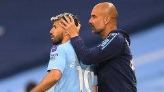 Барселона започна преговори за Агуеро