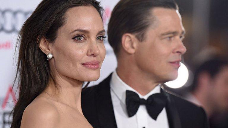 Анджелина Джоли и Брат Пит лъжеха, че са само приятели в началото на своята връзка, когато Пит все още беше с Дженифър Анистън. По-късно стана ясно, че двамата са се влюбили на снимачната площадка и далеч не са имали изцяло колегиални чувства помежду си...