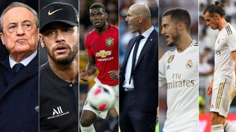 Зинедин Зидан има много проблеми за решаване. Ето 6 причини за настоящата криза в Реал Мадрид...