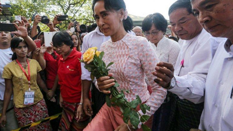 Мианмар на Аун Сан Су Чи - етнически чистки, цензура и произвол