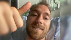 Ериксен от първо лице от болницата: Благодаря на всички за подкрепата!