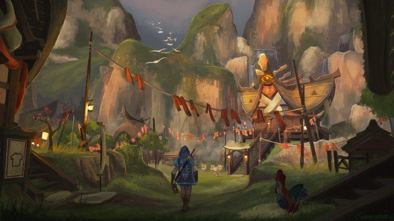The Legend Of Zelda: Breath Of The Wild  Nintendo не е известна като компания, която прави особено реалистични игри. Но това никога не е имало значение в случая с The Legend of Zelda, защото това само допринася към свободата, която имате в безкрайния свят на играта. Искате да използвате паднал клон като смъртоносно оръжие или да отсечете няколко дънера и да си направите мост над реката с тях? Няма никакви проблеми. Стига да имате въображение, механиката на играта ще ви позволи да правите почти всичко.