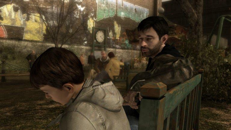 Heavy Rain (PS3)  Френското студио Quantic Dream се гордее с това, че създава интерактивни истории с множество разклонения в зависимост от решенията на геймъра - и Heavy Rain е върховата точка в уменията на компанията. Този многопластов разказ за семейството, изкуплението и опасностите, които дебнат дори на най-невинните места, е изключително емоционално влакче, което редува почти безметежни моменти с брутални и спиращи дъха епизоди. В играта трябва да откриете едно похитено дете, влизайки последователно в ролята на няколко различни персонажа. Как ще се развие разследването и кой ще оживее в неговия край е нещо, което само вашите собствени действия ще определят. Без да издаваме повече от сюжета, в Heavy Rain има поне две сцени, които ще ви накарат да се почувствате разтърсени изоснови – едната залага повече на физическия шок, а другата е дилема, която не бих искал никой да решава в реалния живот. Ако не сте пробвали тази игра и обичате ефектно разказани истории с много обрати, не я пропускайте.