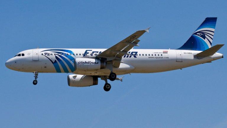 Полет MS804 от Париж към Кайро изчезна преди ден