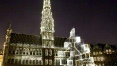 Така ще изглежда историческият център на Брюксел тази Коледа