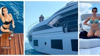 На яхтата на Кристиано: Лукс и блясък за 6 милиона и пищната Джорджина на борда