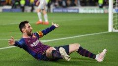 Меси стигна 600 гола за Барселона и продължава да води отбора към още един требъл
