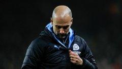Пеп Гуардиола и Манчестър Сити останаха на 14 точки зад Ливърпул