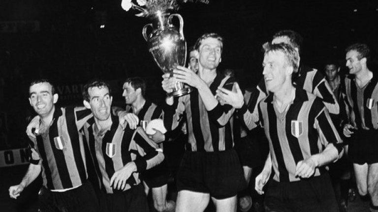 Първата победа на италиански отбор над испански идва през 1964 г. Интер побеждава Реал (Мадрид) с 3:1.