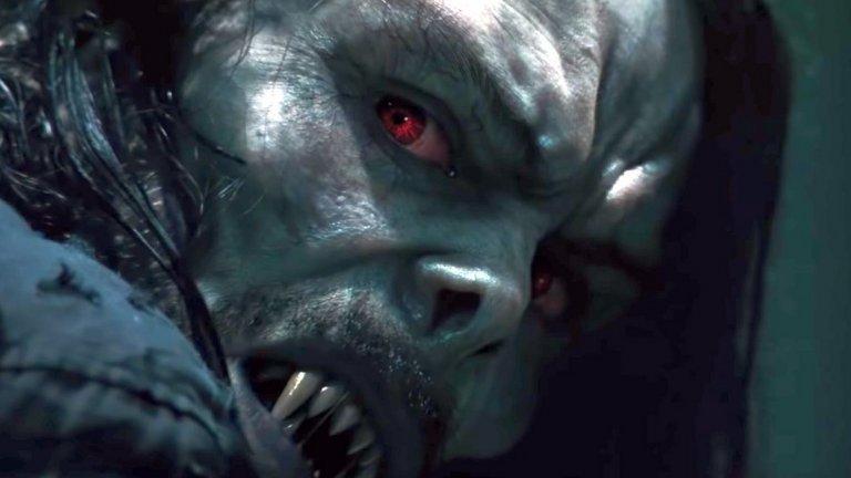 """""""Морбиъс"""" (Morbius) Премиера: 31 юли  Джаред Лето беше ужасен Жокер във вече споменатия """"Отряд самоубийци"""", но тук може и да му се получи. Играе д-р Майкъл Морбиъс - биолог, страдащ от рядко заболяване на кръвта. В опита си да се излекува Морбиъс се превръща във вампир със свръхчовешки способности и привлича вниманието както на свои колеги учени, така и на ФБР. Морбиъс всъщност е злодей в комиксите за Спайдър-мен, но от Sony - които държат правата за филмиране на историите за лазещия по стени Спайди - са решили да представят персонажа като антигерой, ала Венъм."""