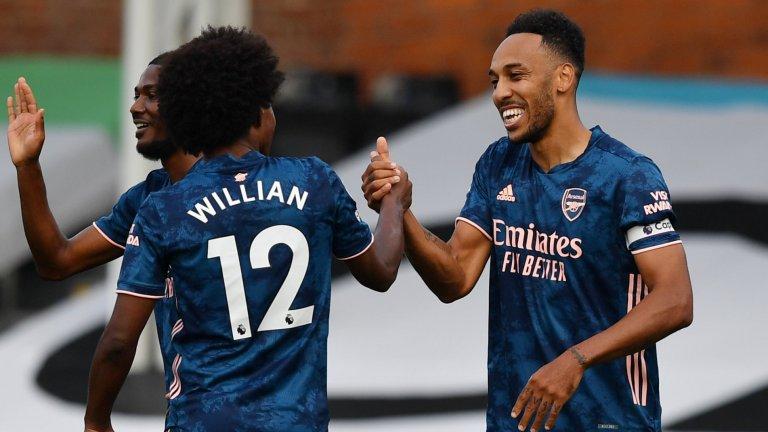Гениален Вилиан дебютира с три асистенции за Арсенал при класика над новак
