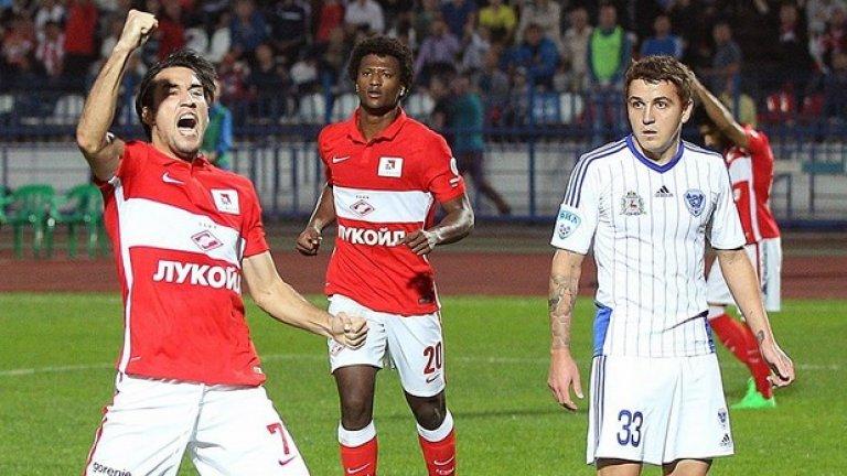 Спартак Москва Шампионът на Русия се завръща в ШЛ и ако излезе от групата си, ще се надява да срещне именно Реал, срещу който има 2 победи в Москва от два мача.