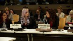 Какво е #кибернасилие и как няколко млади дами използваха платформата на ООН, за да поискат налагането на Интернет закони като за диктатура...