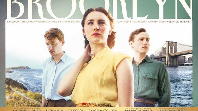 """Постерът на номинирания за три """"Оскара"""" """"Бруклин"""" прилича на корица на списание, което ще намерите при зъболекаря си"""