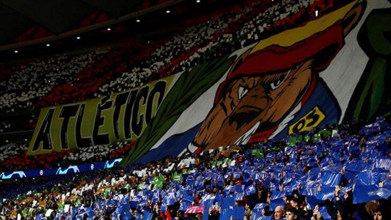 Животното присъства както на емблемата на Атлетико, така и на логото на Мадрид.