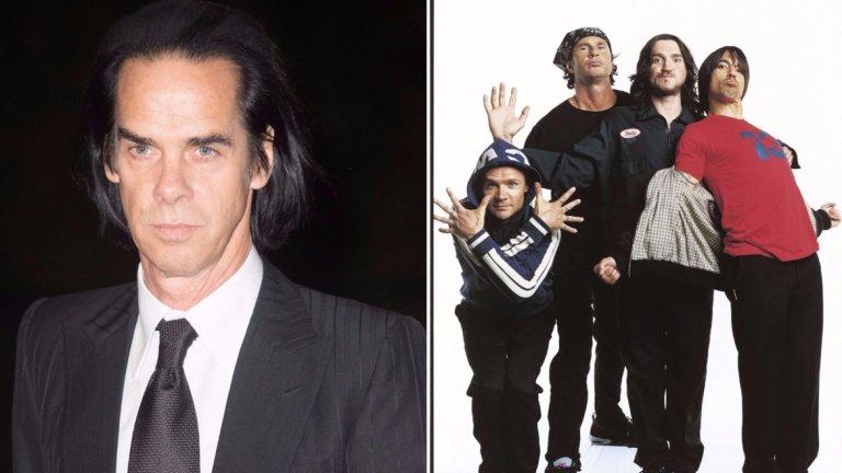 """""""Постоянно съм близо до някоя свиреща уредба и питам """"Какъв, по дяволите, е този боклук"""". И винаги отговорът е: """"Red Hot Chili Peppers""""  Ник Кейв за Red Hot Chili Peppers  Този някак небрежен словесен шамар от певеца с емблематичен нисък глас  се отразява болезнено на басиста на Red Hot Флий. Дотолкова, че Флий го коментира в официалния сайт на своята банда и нарича Кейв """"един от любимите ми композитори и певци и музиканти за всички времена"""" Горкият Флий."""