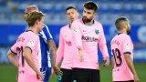 Гафовете на Барселона в Ла Лига продължават