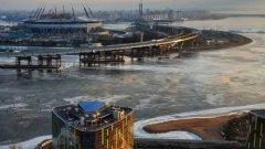 Санкт Петербург. Новият стадион ще е с капацитет 62 хил. места.