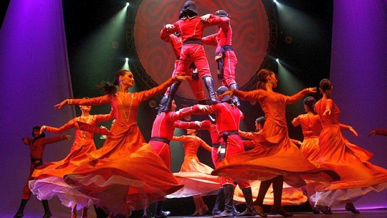 Новата дата за грузинския спектакъл Самая е 15 октомври