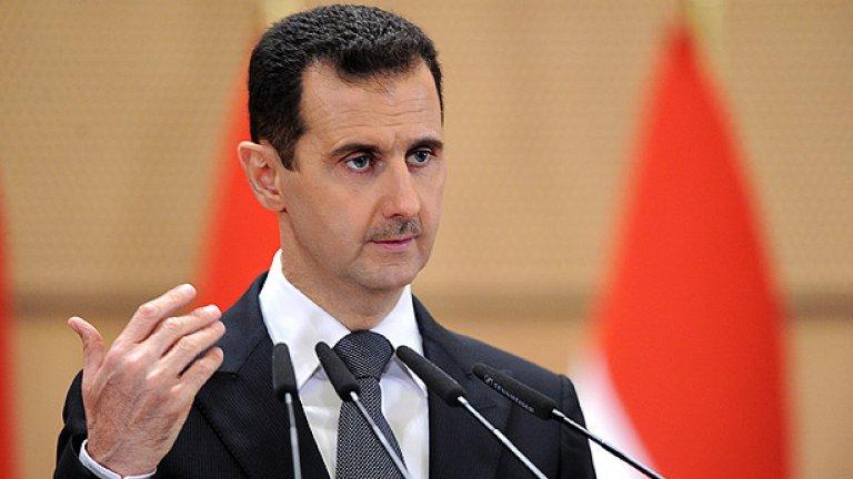 Дипломатическата и военната ситуация бе в полза на Башар ал Асад. С помощта на Русия и Иран, той постави на колене бунтовниците, а САЩ току-що бяха заявили, че за тях смяната на режима не е приоритет.