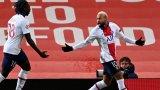 """С магията на Неймар ПСЖ пречупи Юнайтед на """"Олд Трафорд"""""""