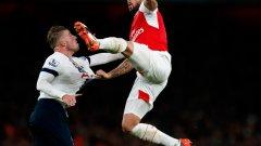 Дербито между Арсенал и Тотнъм може да има важно значение за битката за титлата