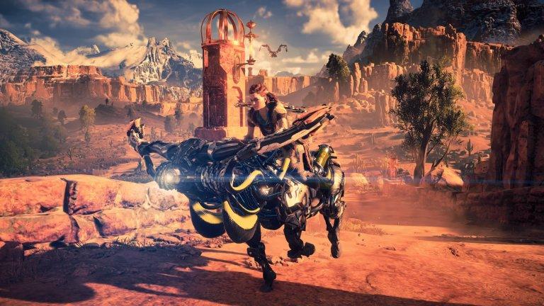 Horizon: Zero Dawn  Ако през 2017 г. не беше излязла Breath of the Wild, Horizon със сигурност щеше да спечели наградата за игра на годината. Разработчиците от Guerilla Games създават една широка вселена, която впечатлява всеки, докоснал се до играта. Към свободата да изследвате постапокалиптичния свят, населен с една роботизирана и враждебна фауна, идва дълбоката и интересна история и страхотният геймплей.