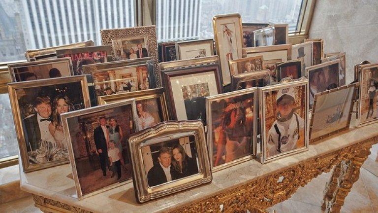 Семейните снимки демонстрират сплотеността на семейство Тръмп