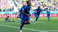 Двата гола на Коутиньо в началото на втората част осигуриха победата