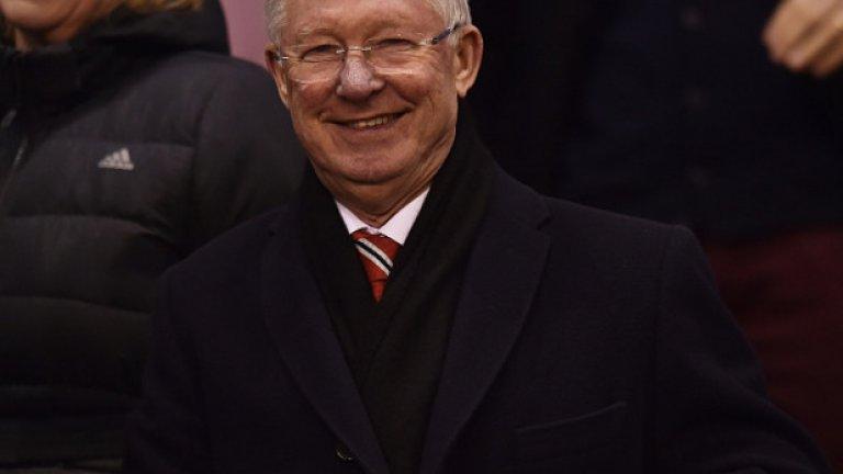"""2. Алекс Фъргюсън  Живата легенда на Манчестър Юнайтед сър Алекс Фъргюсън води """"червените дяволи"""" 26 сезона и превърна клуба в гигант на световния футбол. Взе 38 трофея с Юнайтед, включително на два пъти Шампионската лига, и остава най-дългогодишният мениджър на този тим."""