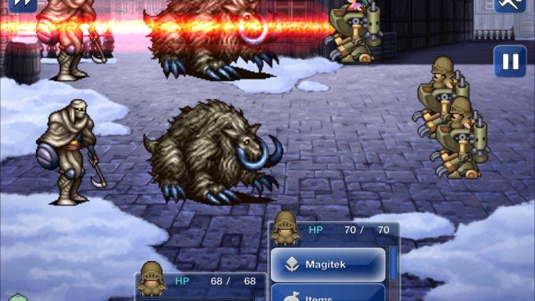 Final Fantasy VI (PlayStation)  Последната игра в поредицата преди тя да премине към триизмерна графика ще се запомни и по още една причина. Докато следващата Final Fantasy VII е изключителна стъпка напред в техническо отношение, до момента не сме видели по-затрогваща история от това, което Final Fantasy VI ни предложи. В нея традиционната фентъзи локация отстъпва място на един киберпънк свят, населяван от някои от най-запомнящите се персонажи като ужасяващия социопат и злодей Кефка. Историята никога не е прекалено сложна и объркана, което само по себе си е постижение за японските ролеви игри. Всъщност, в някои отношения тя е съвсем традиционна, но е написана по толкова добър начин и разиграна в толкова интересен свят, че и до днес си остава нещо специално.