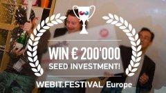 Щедро поощрение ще получи победителят от състезанието за предприемачи на Webit.Festival