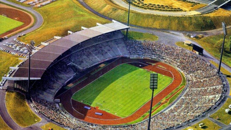 """""""Паркщадион"""" в Гелзенкирхен също преди 35 години."""