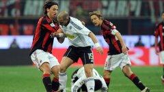 Златан Ибрахимович бе в основата на успеха на Милан над Чезена