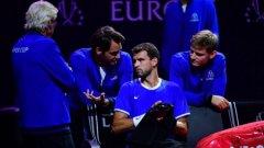 Отборът на света намали изоставането си от Отбора на Европа на 5:7, след като изоставаше с 1:7.
