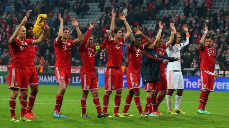 Шампионите маршируват към финала в Лисабон с мечта за втора поредна купа в турнира.