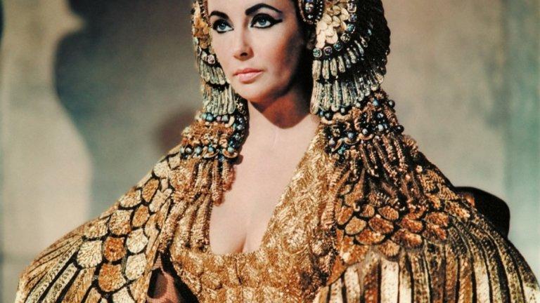 """Елизабет Тейлър в """"Клеопатра"""""""