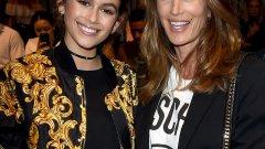 Синди Крофорд и Кайа Гербер   Кайа все още няма 17 години, но вече е решила, че иска кариерата на майка си. Тя вече прави първите си стъпки в света на модата и има сключен договор с IMG Models. Кайа не дължи външния си вид само на Синди Крофорд, но и на баща си Ранд Гербер, който в миналото също е бил модел. Тази пролет може да бъде видяна в кампании на марки като Versace, Omega, Calvin Klein и Marc Jacobs.