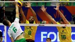 България взе гейм на бразилците, но нямаше сили за повече