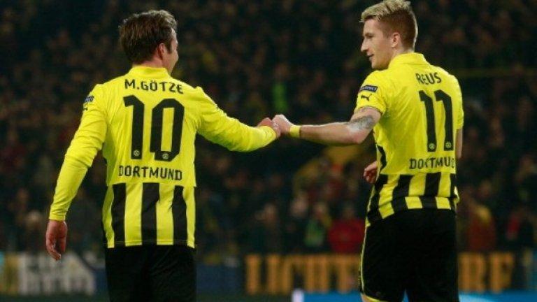 Марио Гьотце и Марко Ройс Гьотцойс е уникално футболно приятелство, но тандемът бе заедно само един сезон – 2012/13. Хубавото е, че двамата са заедно в националния отбор на Германия, след като Гьотце напусна Дортмунд, за да заиграе в Байерн.