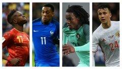 Доста млади футболисти впечатлиха на клубно ниво през миналия сезон, а сега е време да блеснат на Евро 2016.