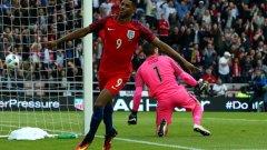 """Най-младият футболист: Маркъс Рашфорд (Англия) – роден на 31.10.1997 г. Нападателят на """"трите лъва"""" няма да може да подобри рекорда за най-млад футболист на европейско първенство. Той се държи от Йетро Вилемс – от Евро 2012 – 18 г. и 71 дни."""
