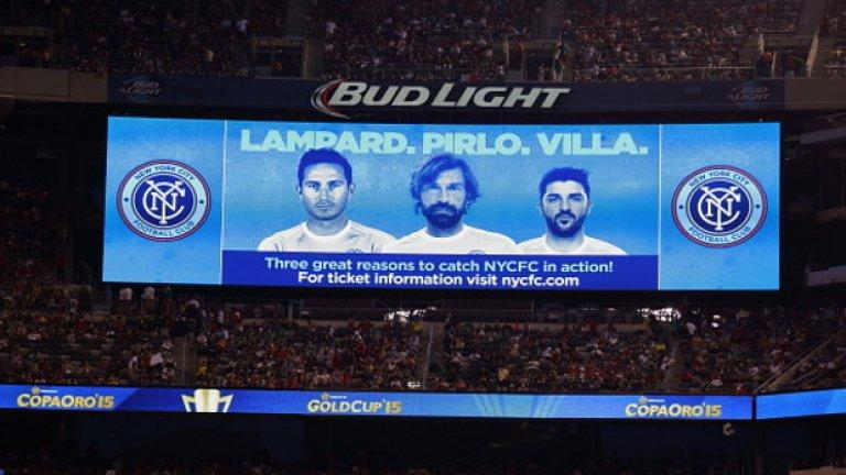 Ню Йорк Сити разполага не с един, не с двама, а с цели трима бивши носители на купата в Шампионската лига. Ето и някои други примери...