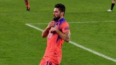 Титаничен Жиру заби 4 гола в Шампионската лига