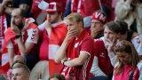 Сам Ериксен е помолил съотборниците си да доиграят мача