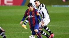 Меси спести нов срам на Барселона