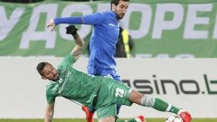 След здрава битка Лудогорец и Левски не успяха да си отбележат гол и ще решават всичко на реванша в София