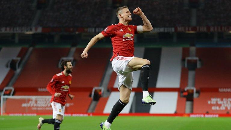Мактоминей отново блести за Юнайтед, Арсенал трябваше да играе продължения
