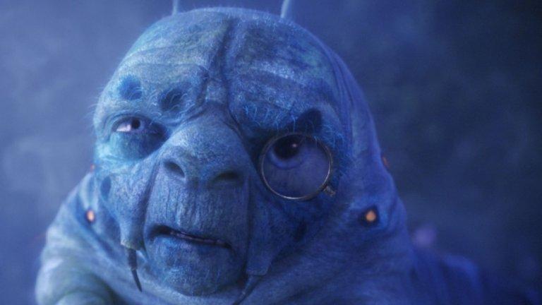 Една от последните роли на Рикман е тази на Синята гъсеница в двете части на Алиса, снимани от Тим Бъртън.