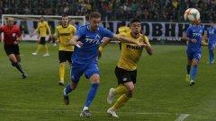 Отслабеният от редица контузии Левски не игра нищо в Коматево и заслужено загуби